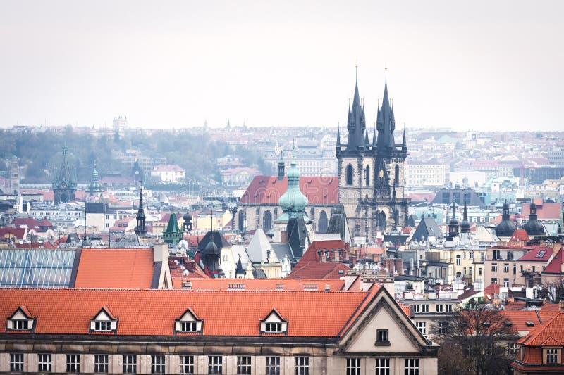 Mosty Praga, republika czech zdjęcie royalty free