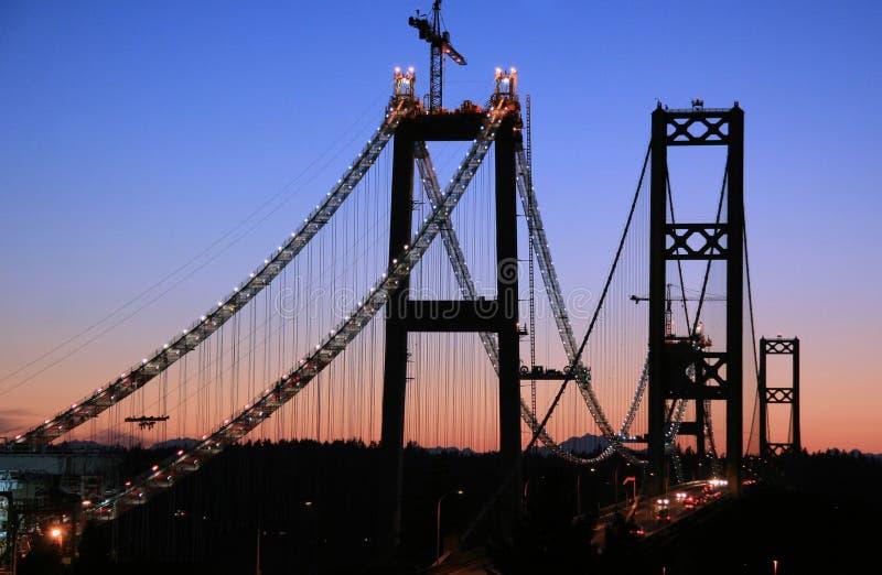 mosty przesmyki obrazy stock
