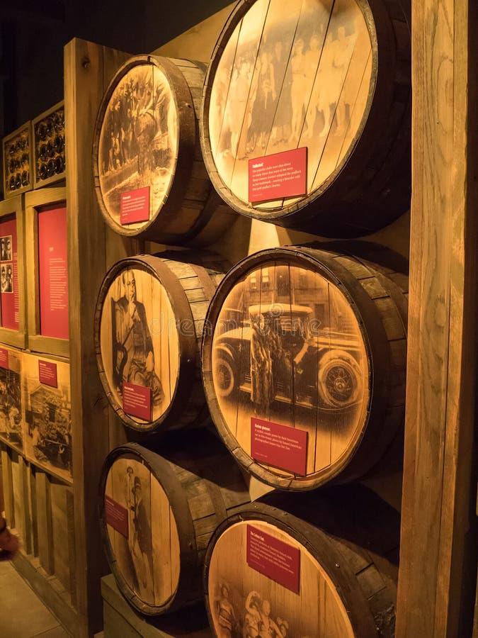 Motłochu Muzealny eksponat, Las Vegas zdjęcie royalty free