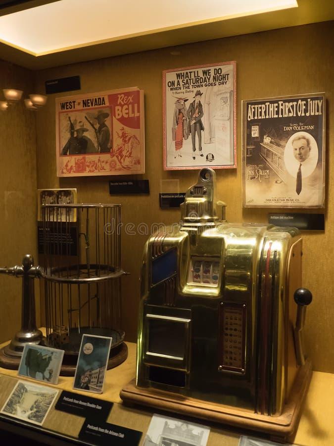 Motłochu Muzealny eksponat, Las Vegas zdjęcia royalty free