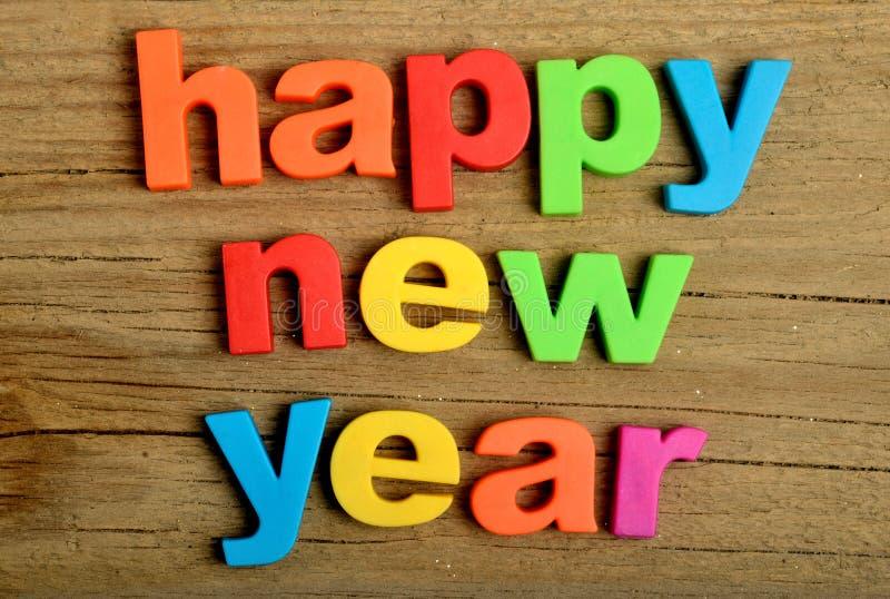 Mot de bonne année photos libres de droits