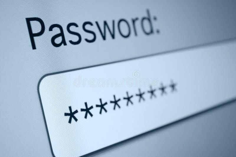 Mot de passe images stock