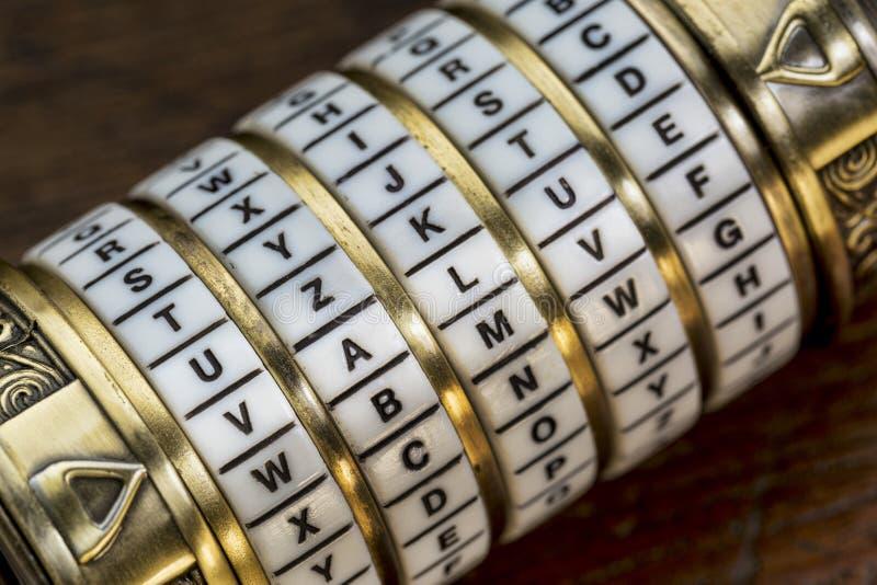 Mot de valeur comme mot de passe au puzzle de combinaison image libre de droits