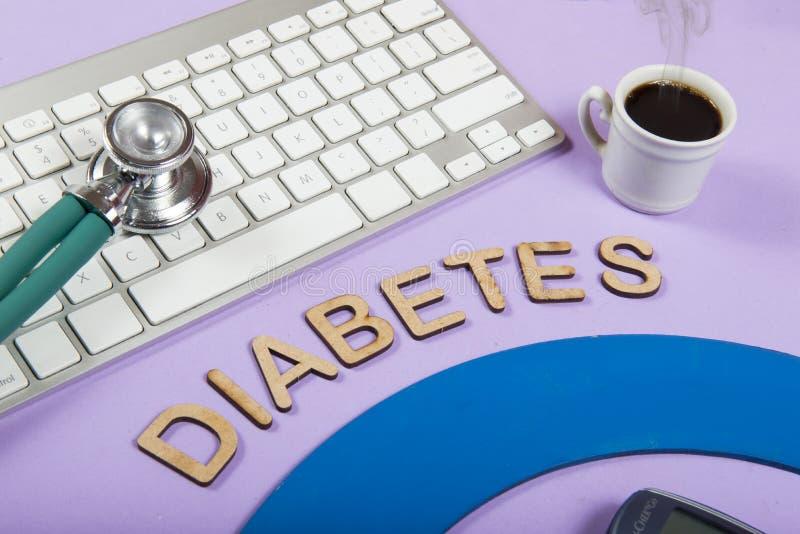 mot et x22 ; diabetes& x22 ; photo stock