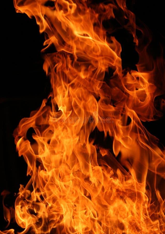 mot svarta burning flammor fotografering för bildbyråer