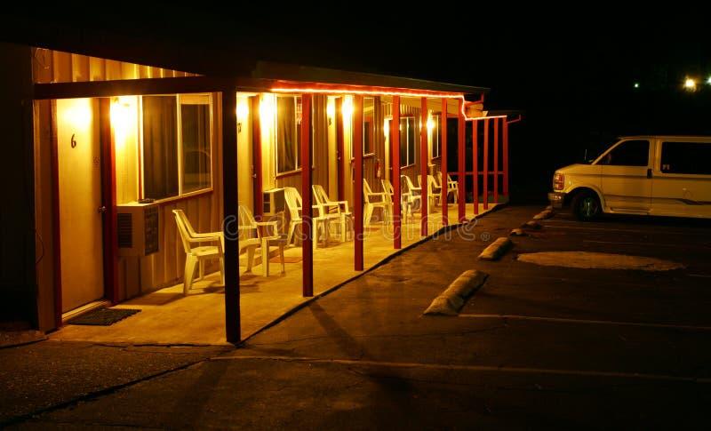 Motel stock photo