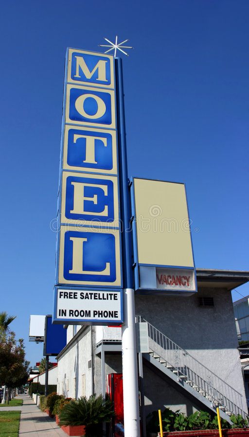 Motel Stock Photography