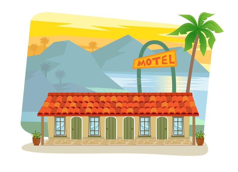 motel ilustración del vector