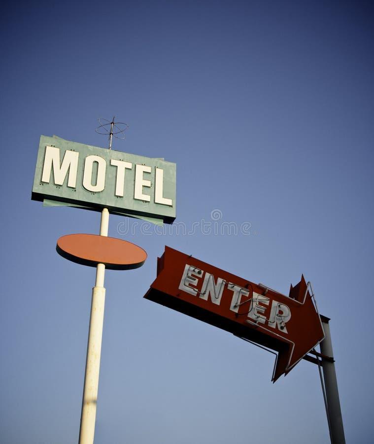 motel fotografia stock