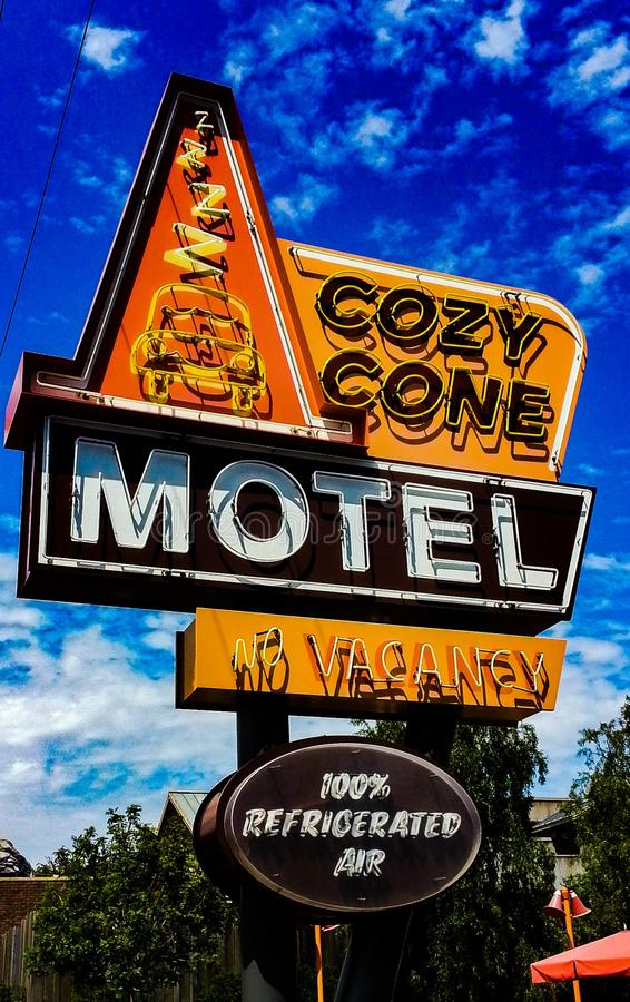 Motel acogedor del cono foto de archivo libre de regalías