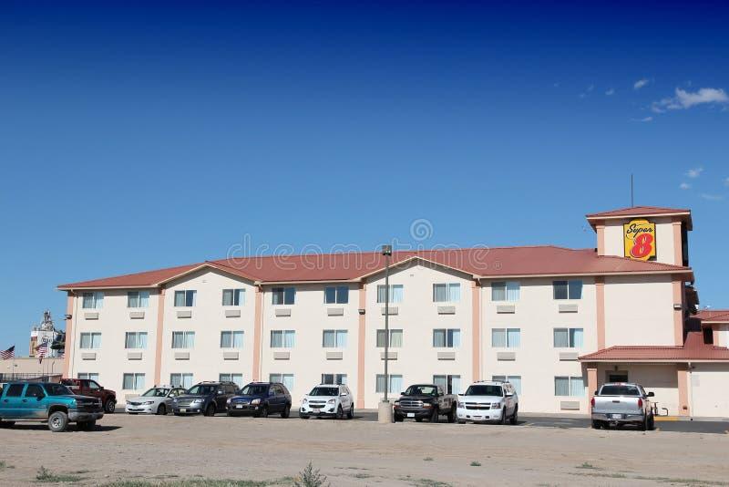 Motel de los E.E.U.U. imágenes de archivo libres de regalías