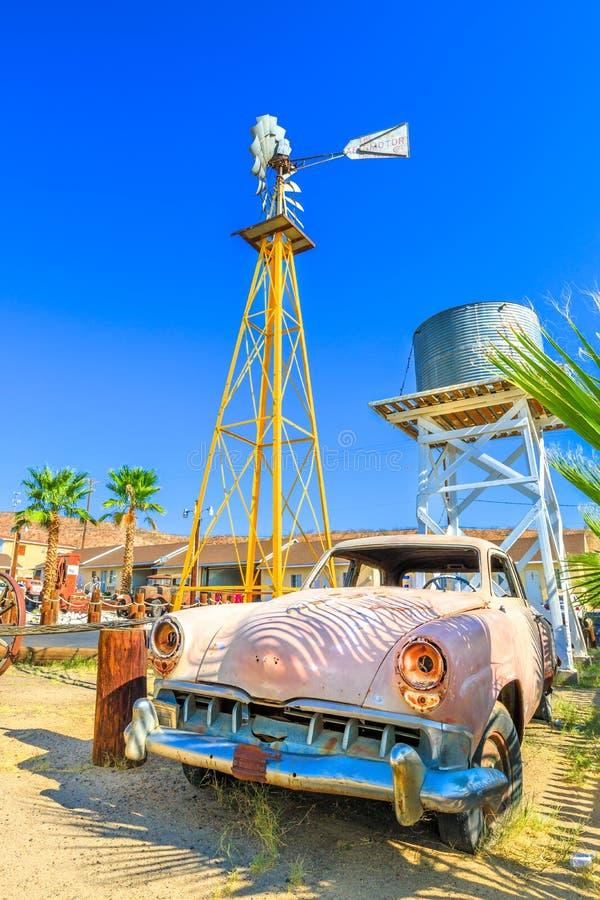 Motel de Route 66 fotos de archivo libres de regalías
