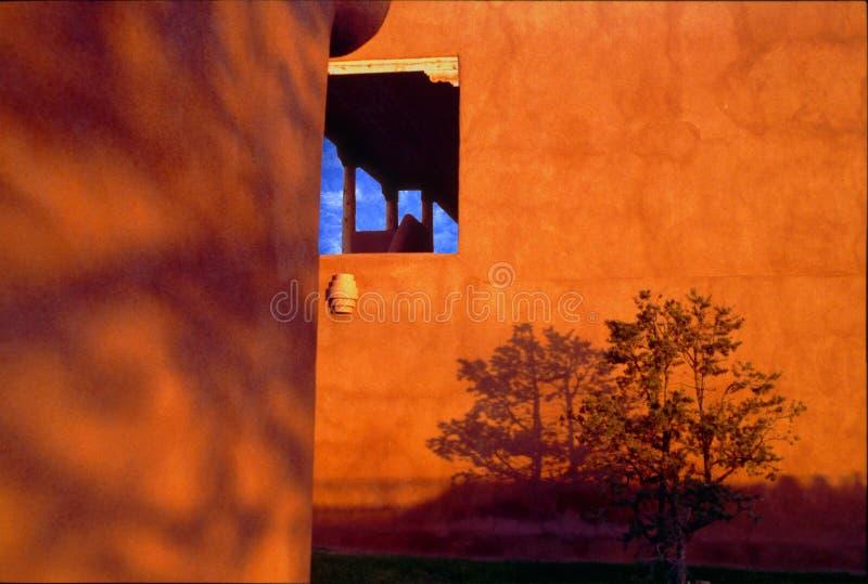 Motel de Taos - septiembre de 1995 imágenes de archivo libres de regalías