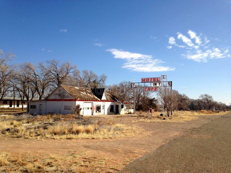 Motel del fantasma immagine stock