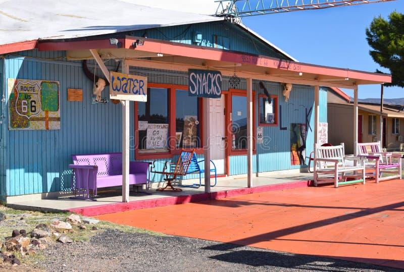 Motel do fazendeiro, Kingman, Route 66 fotografia de stock