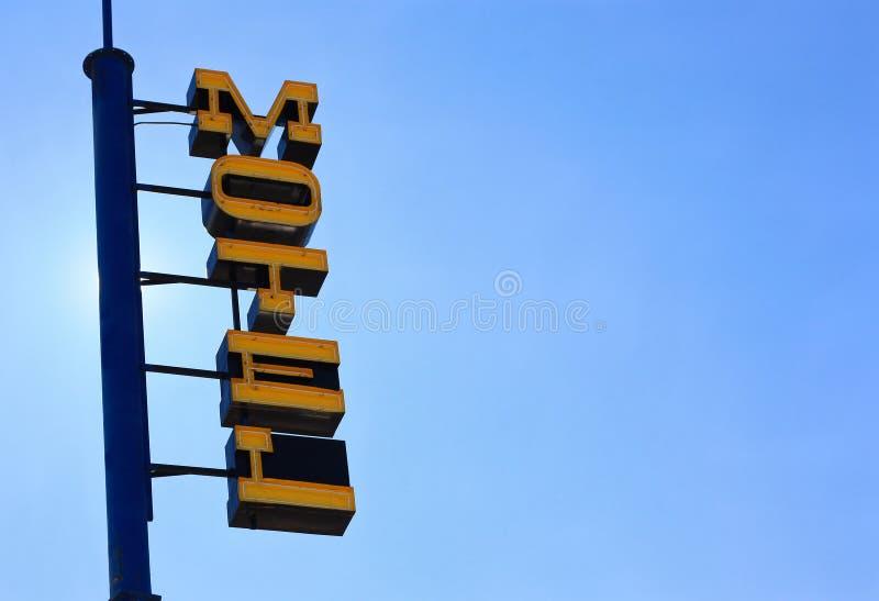 Motel im Himmel stockbild