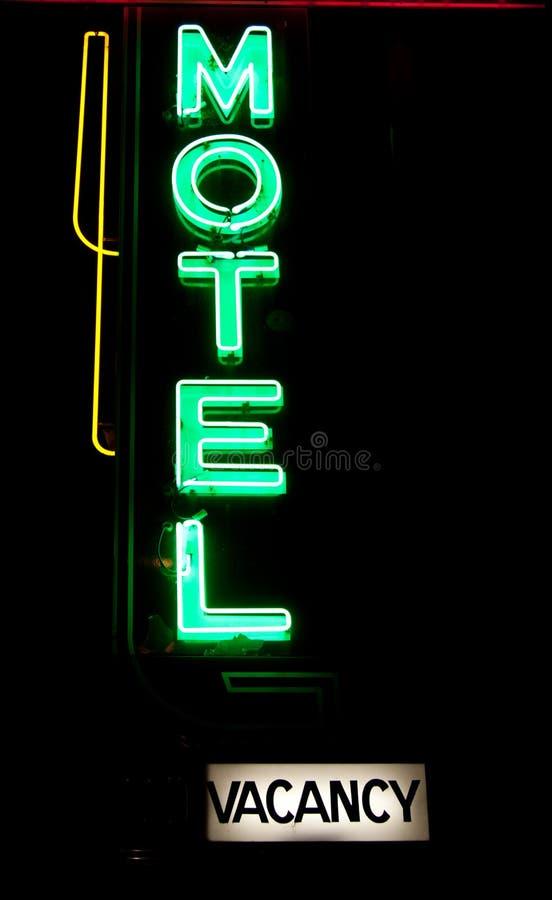 Motel Neon royalty free stock photo