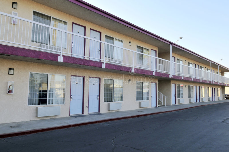 motel typowy obrazy stock