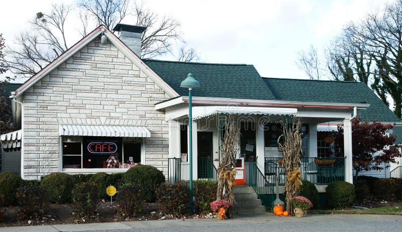 Motel y café sin amor imagen de archivo libre de regalías