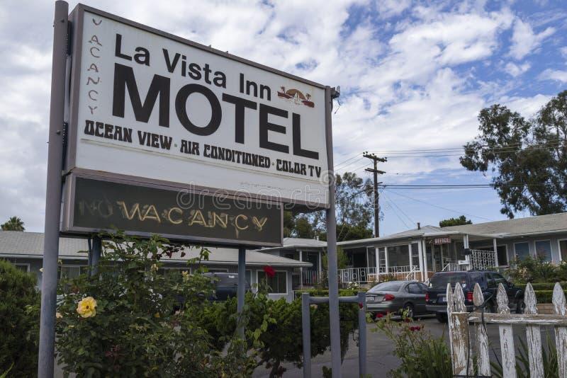 Motel-Zeichen lizenzfreies stockbild