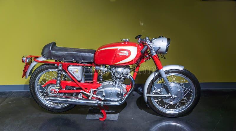 Motercycle 1965 för Ducati 250 mach 1 royaltyfri bild