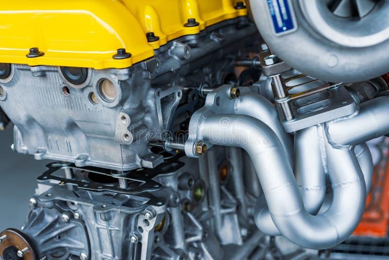 Moteur à combustion interne des véhicules à moteur images stock