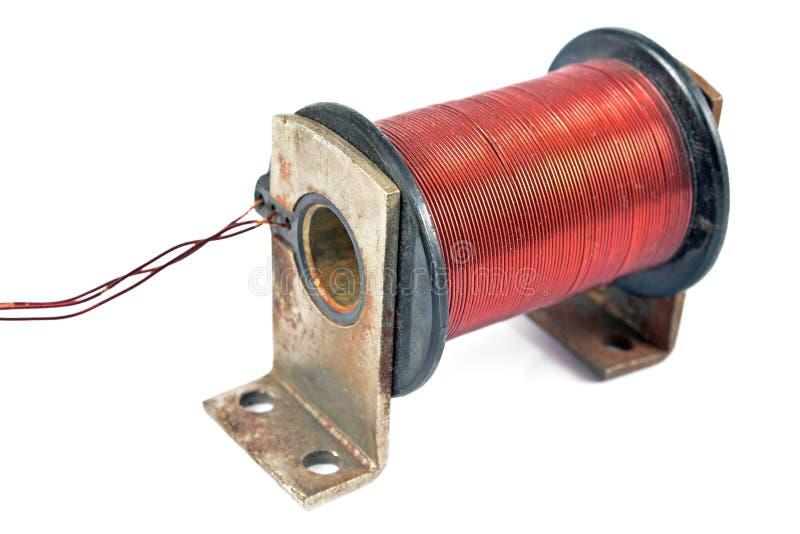 Moteur électrique de bobine image libre de droits