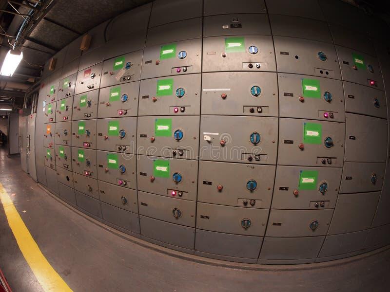 Moteur Control Center de 480 volts photo libre de droits