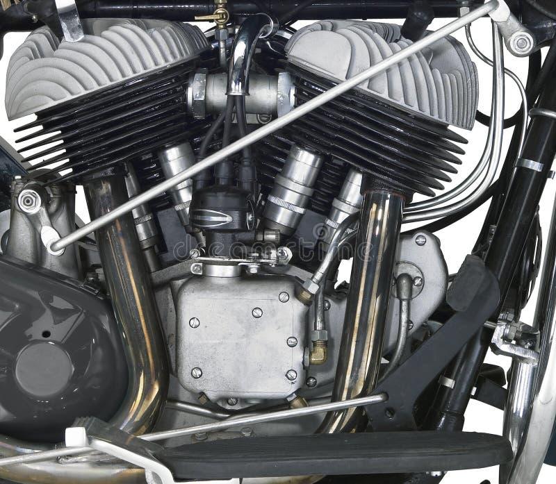 Moteur d'une motocyclette images stock