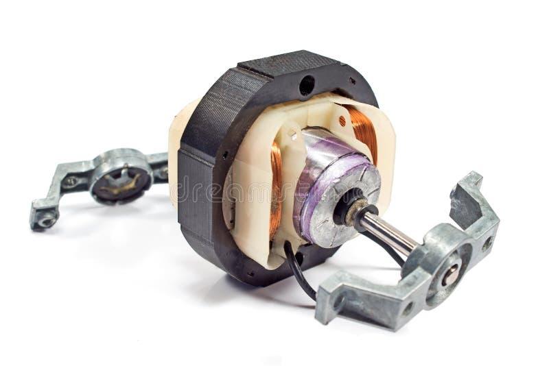 Moteur de cuivre électrique de bobine images stock