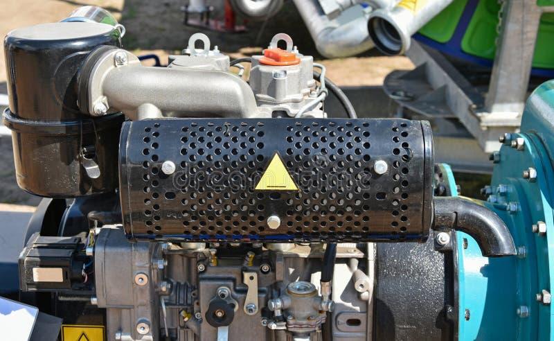 Moteur de moteur à essence photos stock