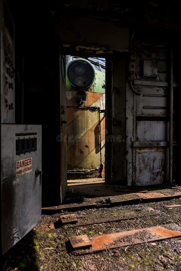 Moteur de train photographie stock libre de droits