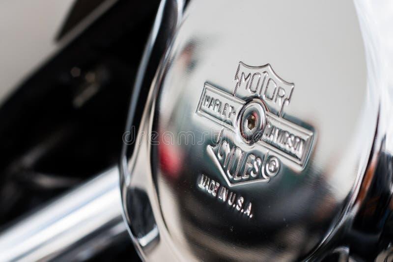 Moteur Harley-Davidson images libres de droits