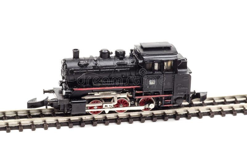 Moteur locomotif de train de jouet images libres de droits