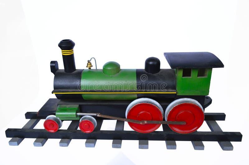 Moteur, vitesse, vert, chemin de fer, rail, chemin de fer, antiquité, fond, noir, enfance, fin, couleur, colorée, illustration, d photo stock