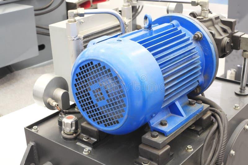 Moteurs électriques puissants pour l'équipement industriel  images stock