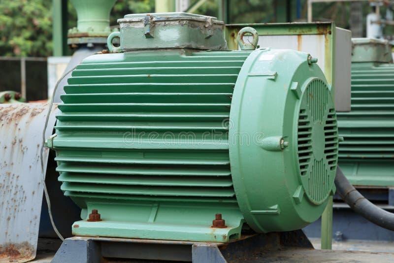 Moteurs électriques puissants pour l'équipement industriel moderne photos libres de droits