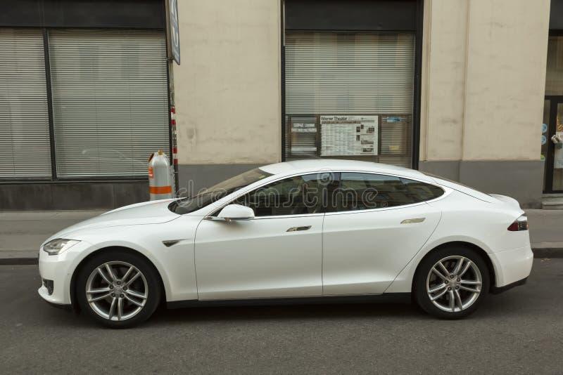 Moteurs de Tesla photographie stock