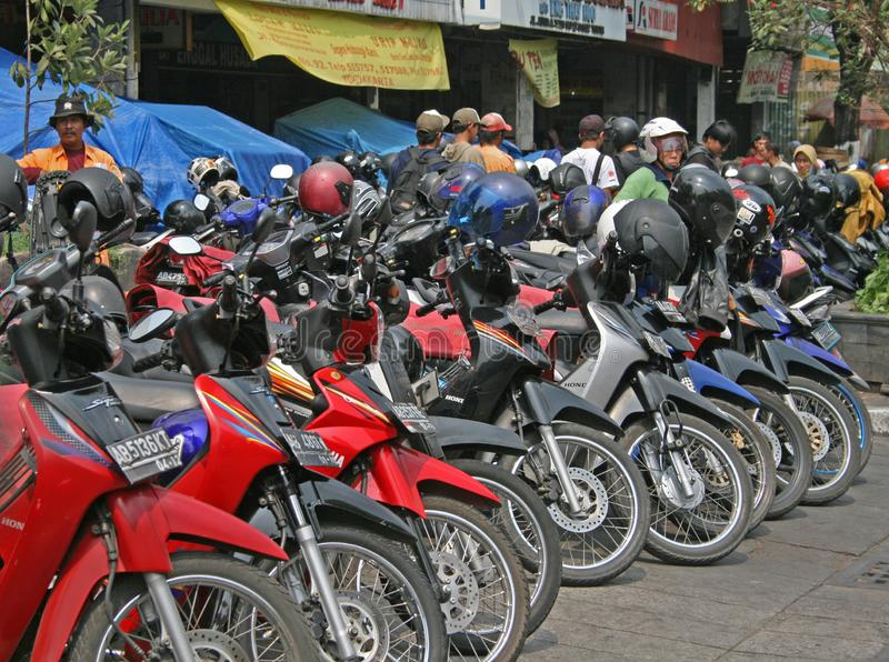 Moteurs de Yojakarta images libres de droits