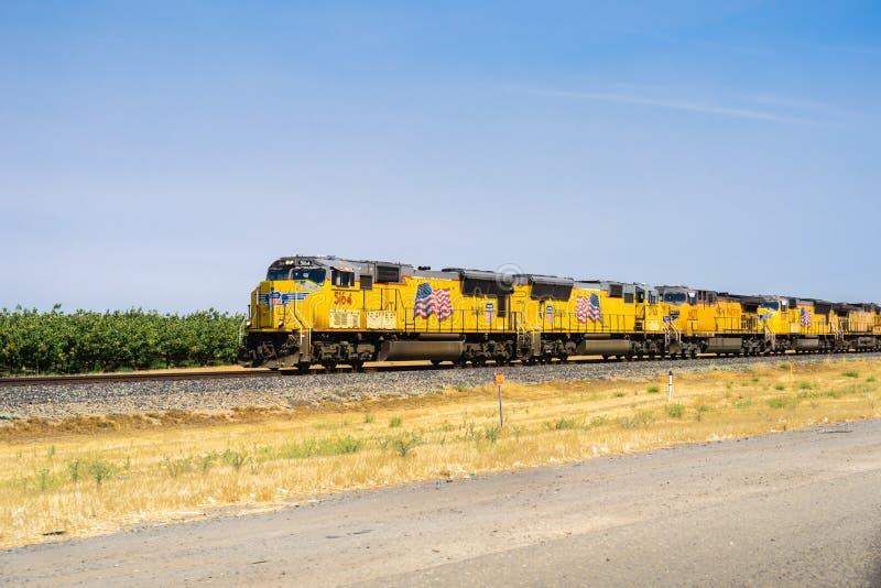 Moteurs Pacifiques de train des syndicats photos stock