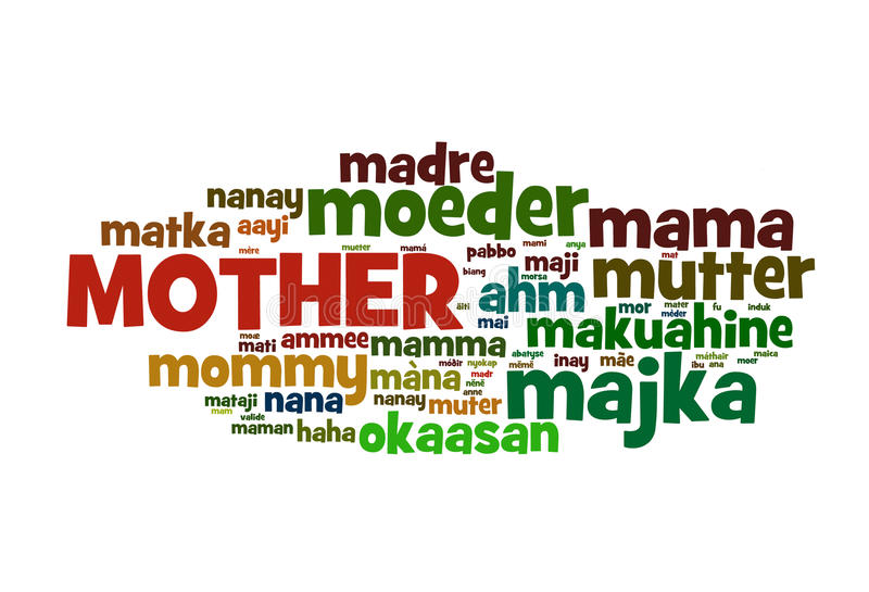 Download Mother stock illustration. Image of mama, word, sign - 23907506