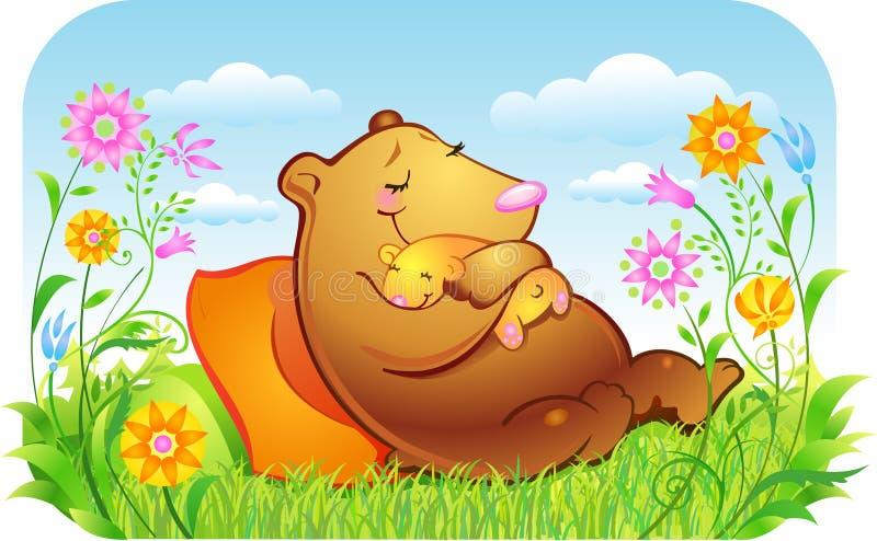 Mother stock illustration