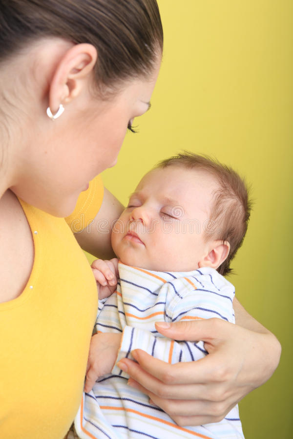 Free Mother And Baby Royalty Free Stock Photography - 10780897