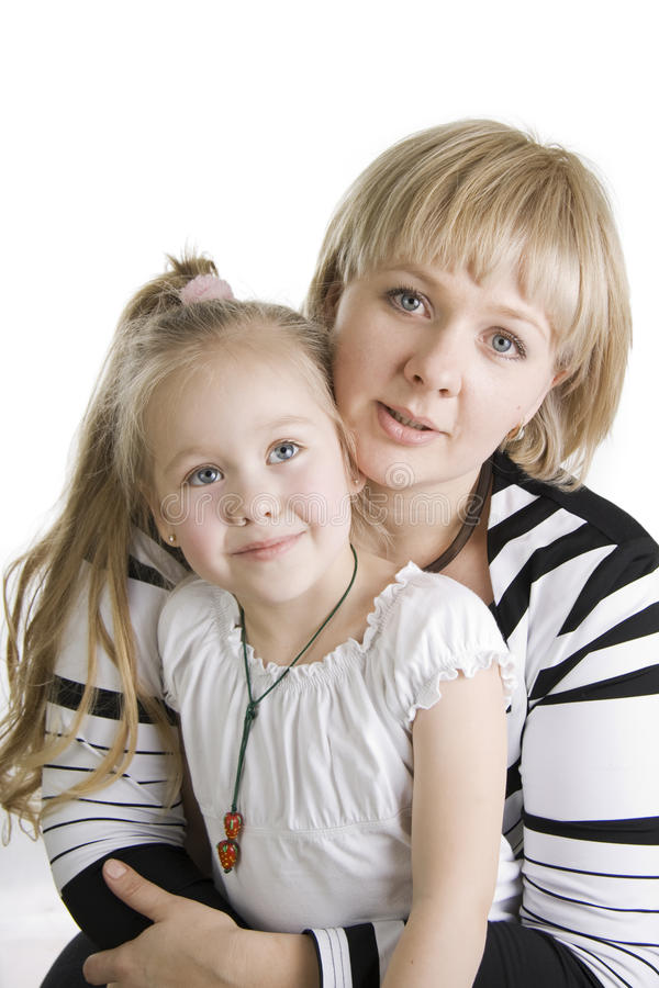 Free Mother And Daughter. Royalty Free Stock Photo - 12968405