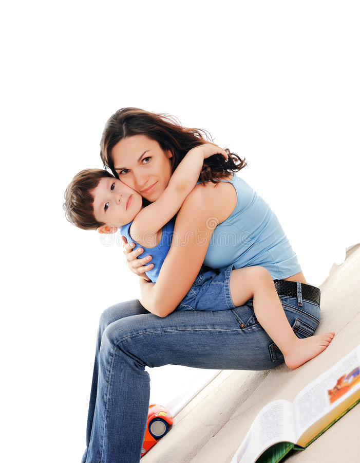 Free Mother And Her Son Stock Images - 14694514