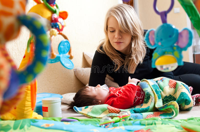 Download Mother And Baby Stock Images - Image: 12682214