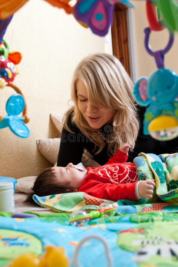Download Mother And Baby Stock Images - Image: 12682254