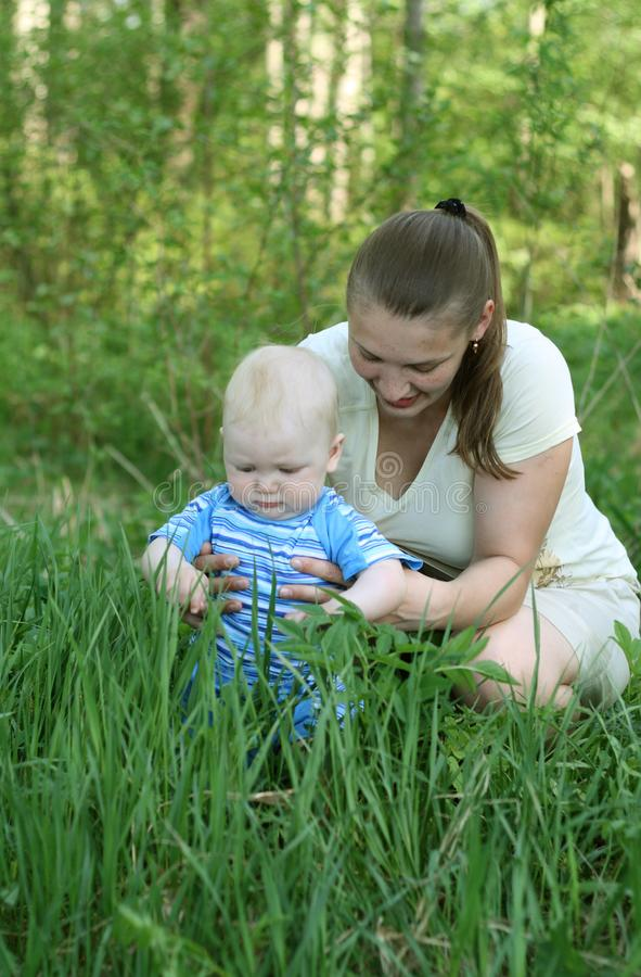Download Mother with baby stock image. Image of childhood, people - 14689237