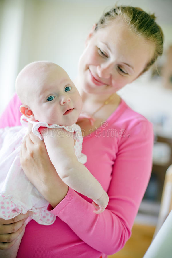 Download Mother And Baby stock photo. Image of life, beautiful - 19718778