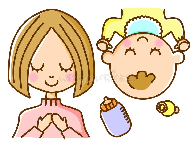 Download Mother And Baby Stock Image - Image: 21689911